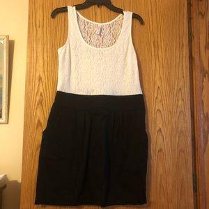 Target lace top dress